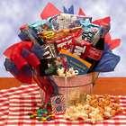 Movie Night Treats Gift Basket with Redbox Rental