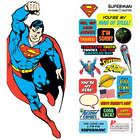 Superman DIY Sticker Note Card