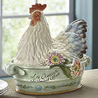 Covered Rooster Dish