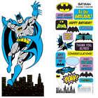 Batman Diy Sticker Card