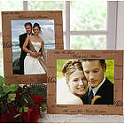 Mr. and Mrs. Personalized Wedding Photo Frame