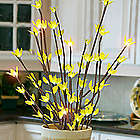 LED Lighted Crystal Branch Decorations