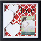 Love Shadow Box Red Background Frame