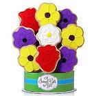 Wild Flowers 9-Piece Cookie Bouquet