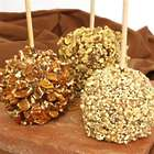 Chocolate Dipped Apple Trio
