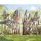 Metal Garden Panel Stakes