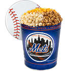 3 Gallons of Popcorn in New York Mets Tin