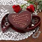 Mom's Someone Like You Personalized Heart Jewelry Box