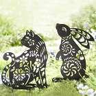 Animal Silhouette Garden Stake
