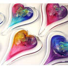 Hanging Glass Heart