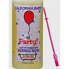 Party! Aromatherapy Bubble Bath with Bubble Wand