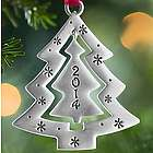 2014 Christmas Tree Pewter Ornament