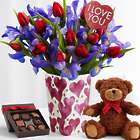 Ultimate Hugs and Kisses Bouquet Gift Set