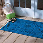 Personalized Welcome to the Beach House Water Guard Mat