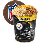 3 Gallons of Popcorn in Pittsburgh Steelers Tin