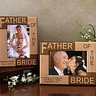 Father/Mother of the Groom/Bride Wooden Picture Frame