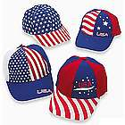 Patriotic Baseball Caps