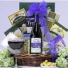Dad's Day Off Gourmet Wine Gift Basket