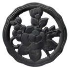 Tea Rose Cast Iron Trivet