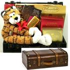 Tye the Tiger and Gourmet Goodies Go Wild Gift Trunk