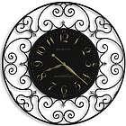 """Joline 36"""" Filigree Wall Clock"""