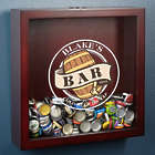 Old Fashioned Beer Barrel Personalized Shadow Box