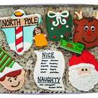 North Pole Cookie Gift Tin