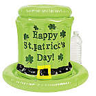 Inflatable St. Patrick's Day Hat Cooler
