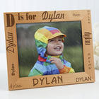 Alphabet Name Personalized Kid's 8x10 Picture Frame