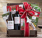 California Red and White Wine Trunk Gift Basket