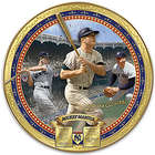 New York Yankees Mickey Mantle Commemorative Porcelain Plate