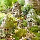 Miniature Solar Fairy Garden