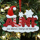 Aunt Personalized Christmas Ornament