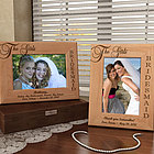 Personalized The Girls, My Bridesmaids Wooden Picture Frame