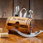 Wine Barrel Accessory Set