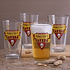 Cheers Personalized Tavern Glass Set