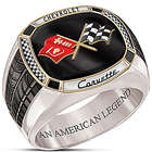 Corvette The Legend Mens Ring