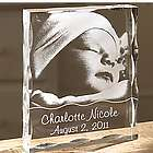 Personalized Baby Acrylic Photo Block