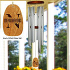 Engraved Initial Wind Chime