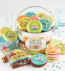 Hip Hip Hooray Birthday Cookies Gift Pail