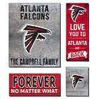 Personalized Atlanta Falcons Love Mega Canvas Prints