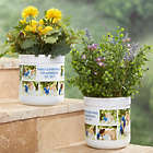 Personalized Picture Perfect Outdoor Flower Pot