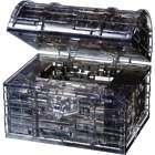 Treasure Box 3D Crystal Puzzle in Black