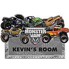 Monster Jam Demolition Room Sign