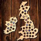 United Kingdom and Ireland Beer Cap Map