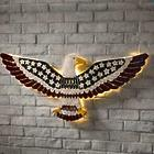 Lighted American Eagle Iron Wall Art