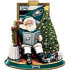 Philadelphia Eagles Talking Santa Tabletop Centerpiece