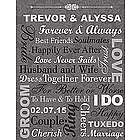 Personalized Forever and Always Canvas