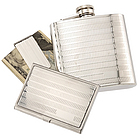 Personalized Flask, Business Card and Money Clip Set
