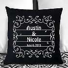 Personalized Happily Ever After Couple Pillow